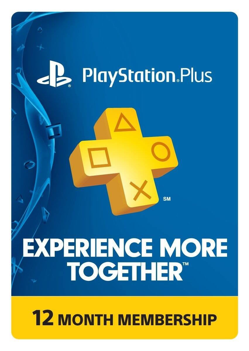 Amazon 12-Month PlayStation Plus Membership $39.99 - PS3/ PS4/ PS Vita [Digital Code]