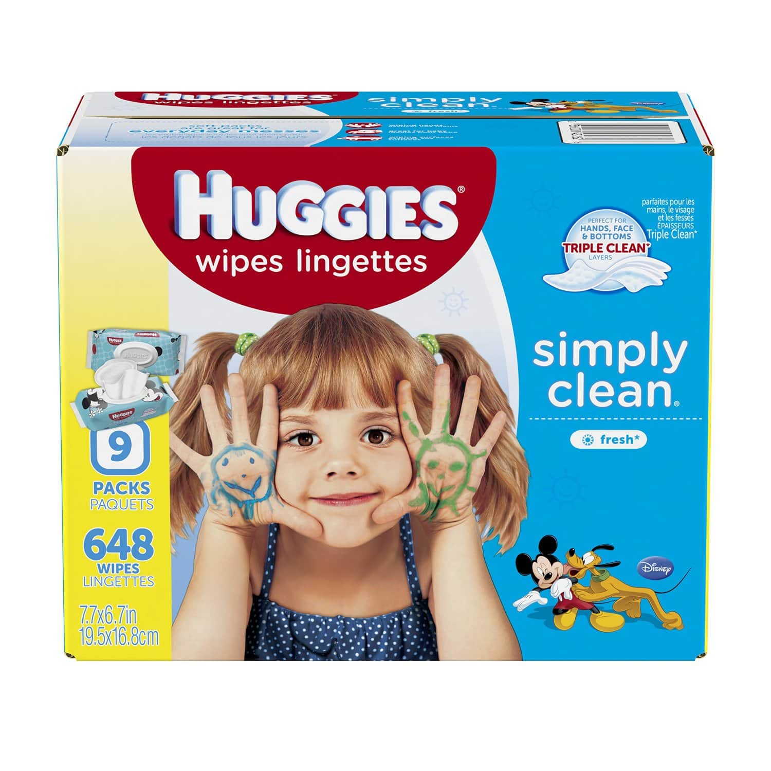 Huggies baby wipes, 648-Count for $8.32 w/ 5% S&S or $7.02 with 15% S&S at Amazon