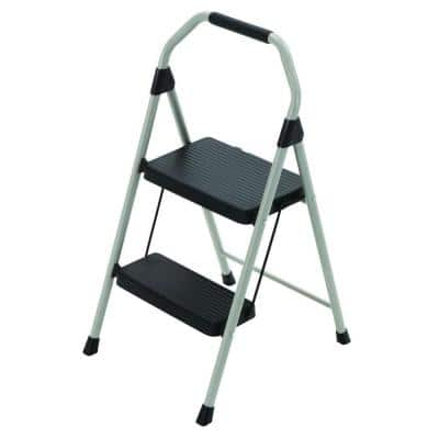Home Depot - Gorilla Ladders 2-Step Compact Steel Step Stool Ladder with 225 lb. Load Capacity for $12.88 w/Free Pickup in Store