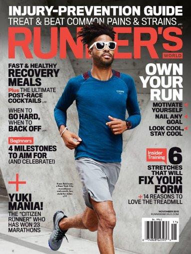 Runner's World Magazine $5.49 per year