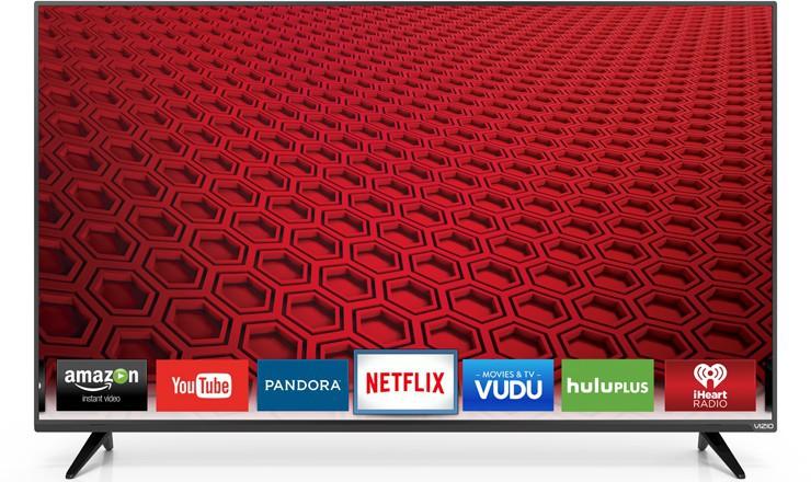 "48"" Vizio E48-C2 1080p 120Hz LED Smart HDTV (Refurb)  $310 + Free Shipping"