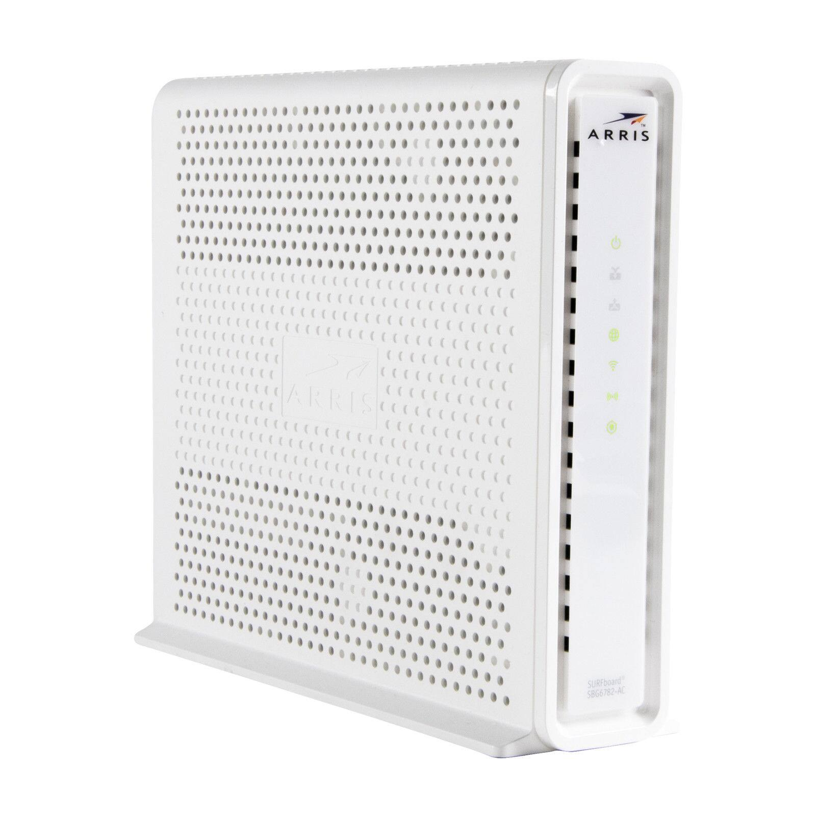 ARRIS SURFboard SBG6782AC DOCSIS 3.0 Modem AC1750 Router (Refurbished)  $78.15 + Free Shipping