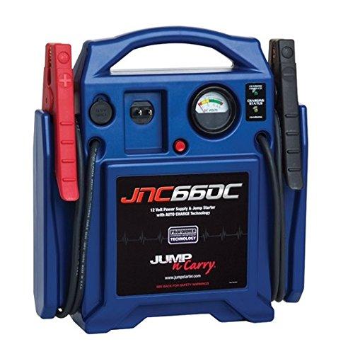 Clore Automotive Jump-N-Carry JNC660C 1700 Peak Amp 12V Jump Starter  $100 & More + Free Shipping