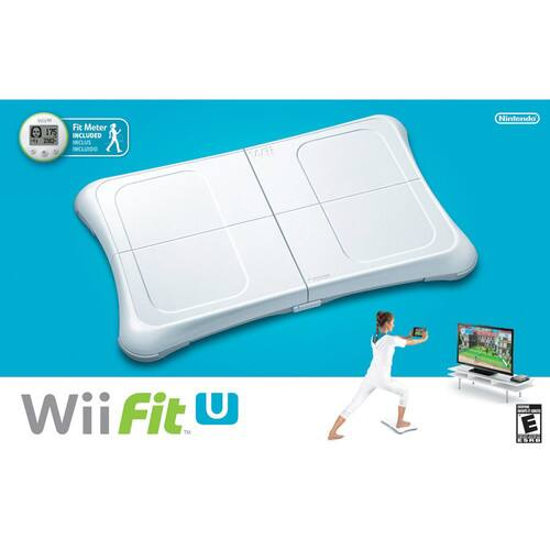 Nintendo Wii Fit U w/ Balance Board & Fit Meter  $20 + Free S&H