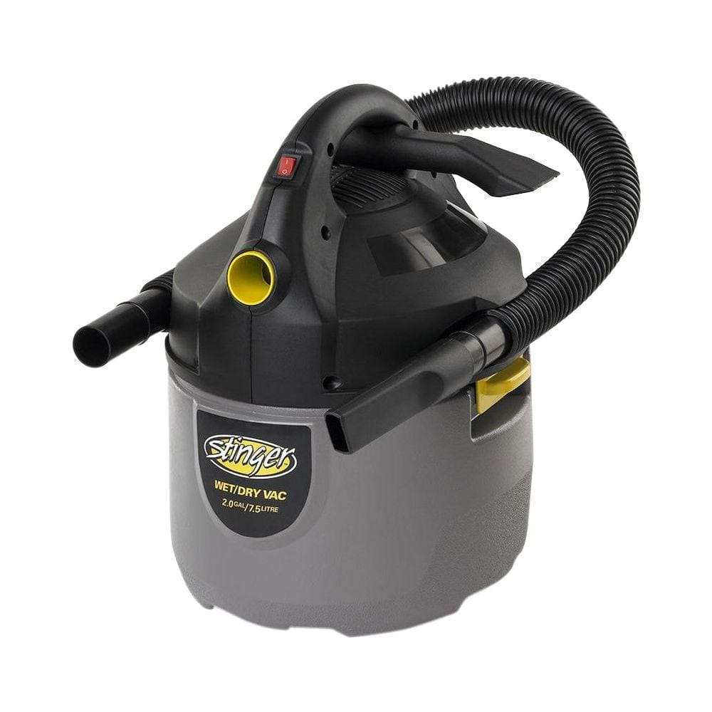 Stinger 2-Gallon Wet/Dry Vacuum $12 + Free Store Pickup ~ Home Depot