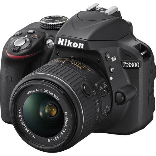 Nikon D3300 DSLR w/ 18-55mm VR II Lens (Refurbished)  $309 & More + Free Shipping