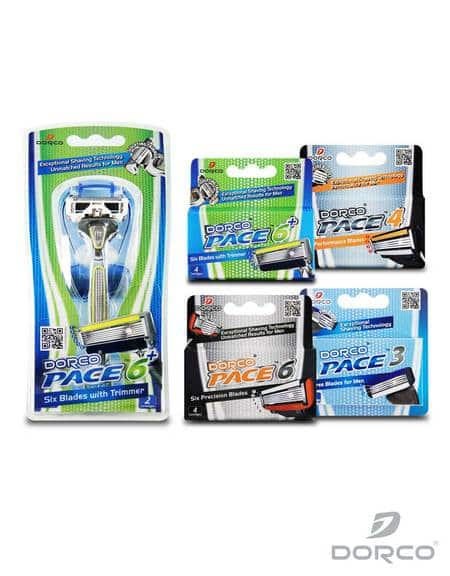 Dorco Shaving Trial Pack: (Men's Pace or Women's Shai): 1x Handle + 18 Cartridges  $14.60 + Free Shipping