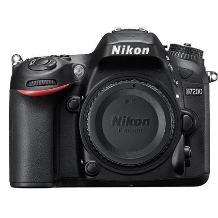Nikon D7200 DX-Format Digital SLR Camera Body (Black, Refurbished) $770 + Free Shipping