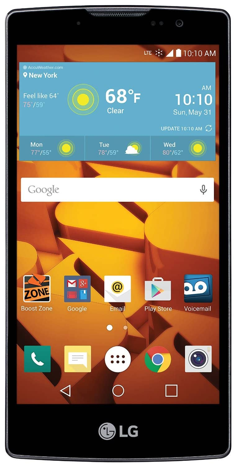 Bestbuy Boost Mobile LG Volt 2 $49.99, free shipping and local pickup.