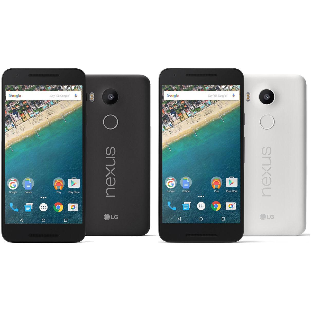 LG Nexus 5X H790 Unlocked Smartphone: 32GB $330, 16GB  $280 + Free Shipping
