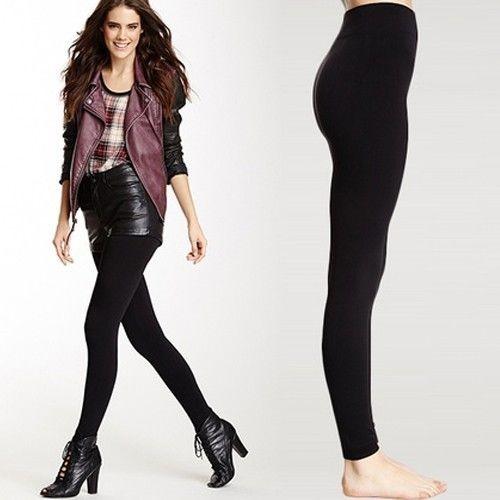 Steve Madden Women's Ultra Comfort Fleece Lined Leggings (Black)  $4 + Free Shipping