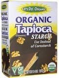 6-Boxes of Let's Do..Organic Organic Tapioca Flour/Starch (6-oz size) for just $2.81 w/ 5% S&S (or $2.52 w/ 15% S&S) at Amazon