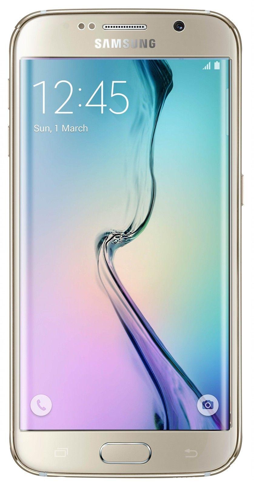 New Samsung Galaxy S6 Edge G925v 128GB Unlocked GSM + Verizon 4G LTE Smartphone $549.99 fs @ ebay