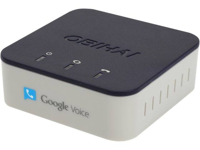 Obihai OBi200 VoIP Telephone Adapter with Google Voice & SIP for $33.99 AC + Free Shipping @ Newegg.com