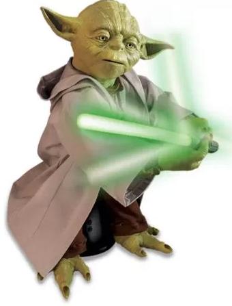 Star Wars Legendary Jedi Master Yoda Figure  $49 + Free Store Pick-Up
