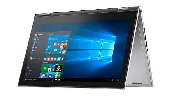 Dell Inspiron Touchscreen 2in1 laptop (6th gen core i7, 256 SSD, 13.3 FHD, 8GB RAM) - $685 + FS @ microsoftstore
