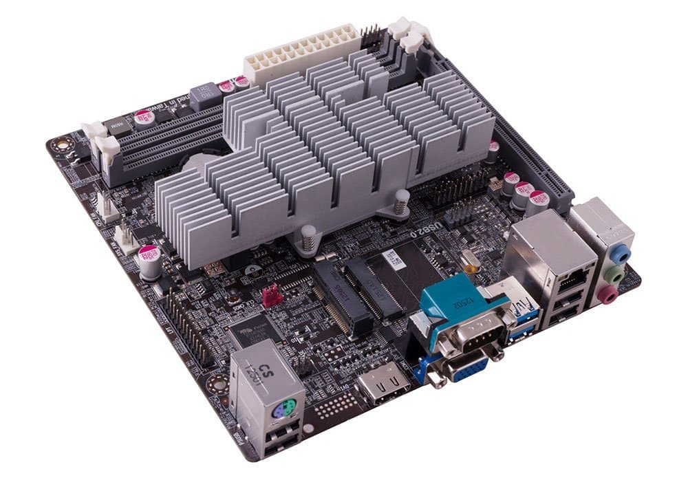 ECS KBN-I/2100 (V1.1) + AMD E1-2100 Dual Core Kabini Mini ITX Motherboard/CPU Combo + 802.11b/g/n Wi-Fi Half Mini Card $17 AR + Free Shipping (w/ShopRunner) @ Newegg