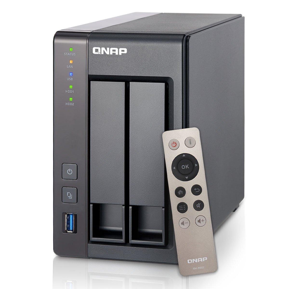 QNAP TS-251+ 2-Bay Personal Cloud NAS  $289 + Free Shipping