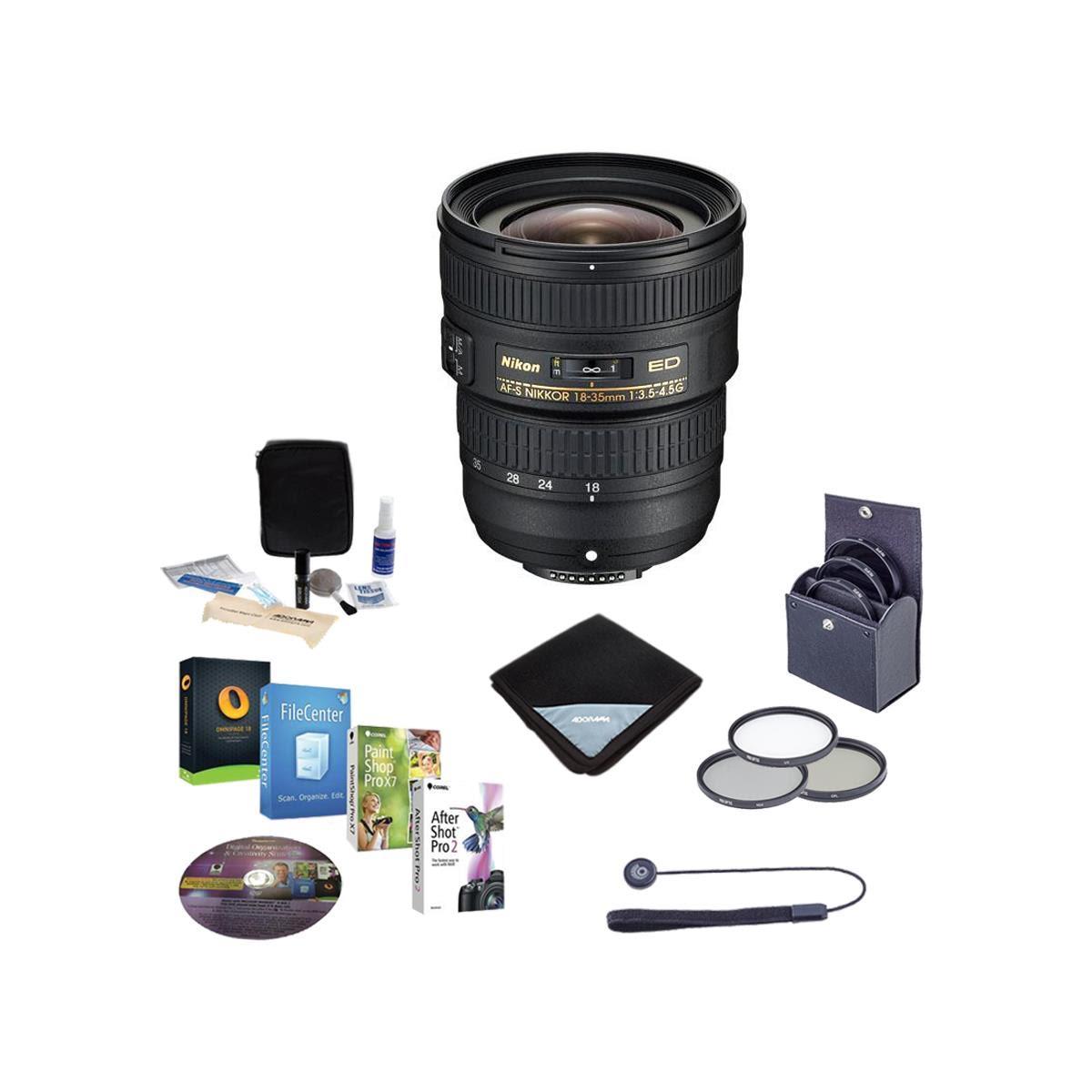 Nikon Lens Sale: 70-200mm f/2.8G $1897, 50mm f1.8 $197, 35mm f1.8  $177 & Many More + Free S&H
