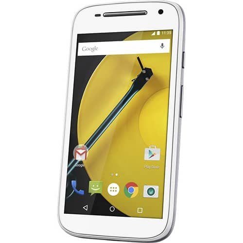 """Motorola Moto E 4.5"""" Boost Mobile 4G LTE No-Contract Smartphone (white)  $30 + Free Store Pickup"""