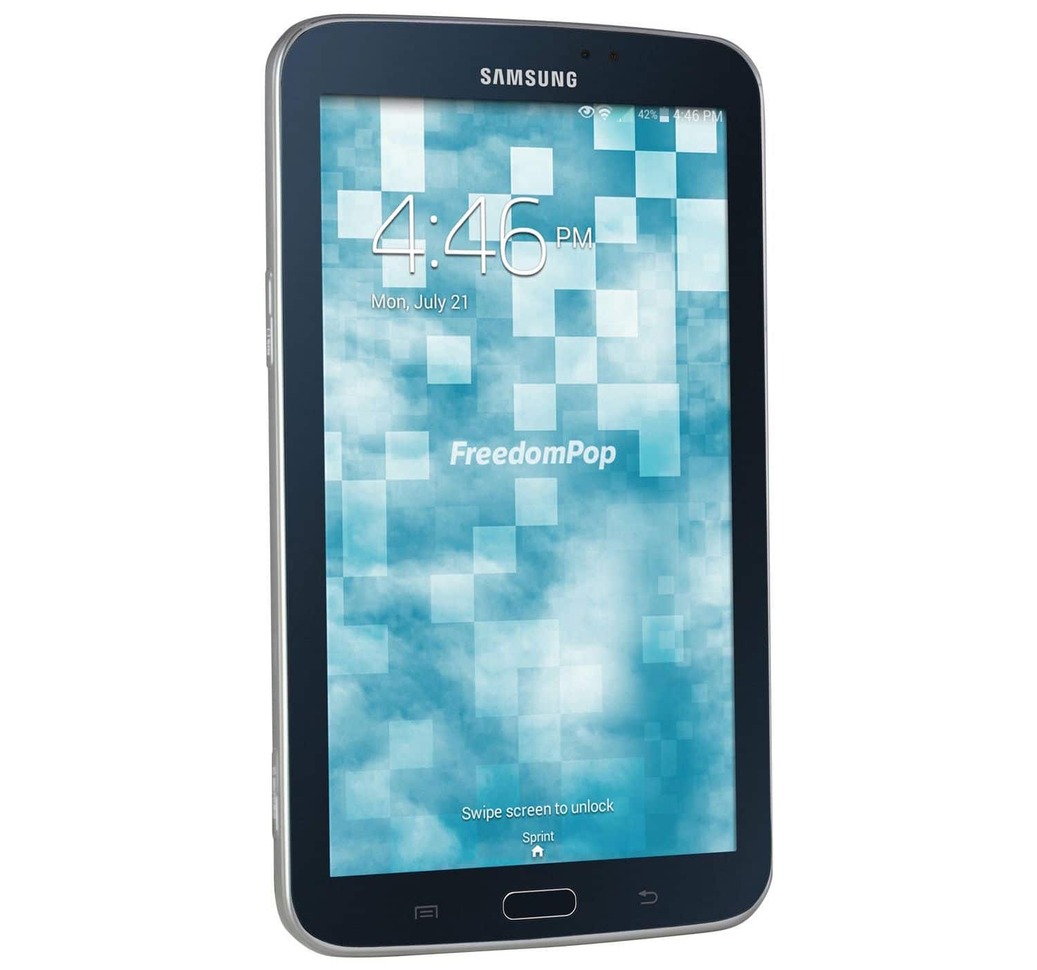 Samsung Galaxy Tab 3 Tablet for $49.99 (certified pre-owned) @Freedompop