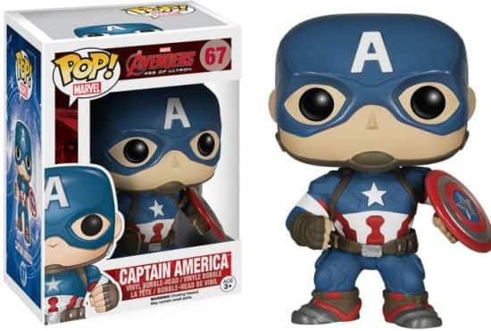 Funko POP Marvel Avengers Age of Ultron Figures: Ultron, Iron Man, Hulk, Captain America & More  $4.50 each + Free Store Pick-Up