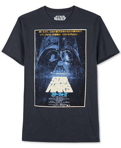 Men's & Men's Big/Tall Apparel: Sweaters, Pullovers, Jackets $8, Tees & Star Wars Tees  from $4 & More + Free SH on $25+