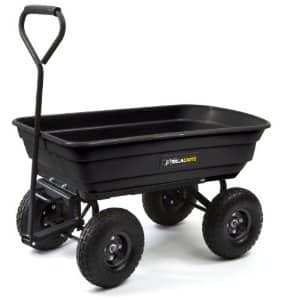 Gorilla Garden Dump Cart (600-Lb Capacity) for $59.98 with free shipping at Amazon