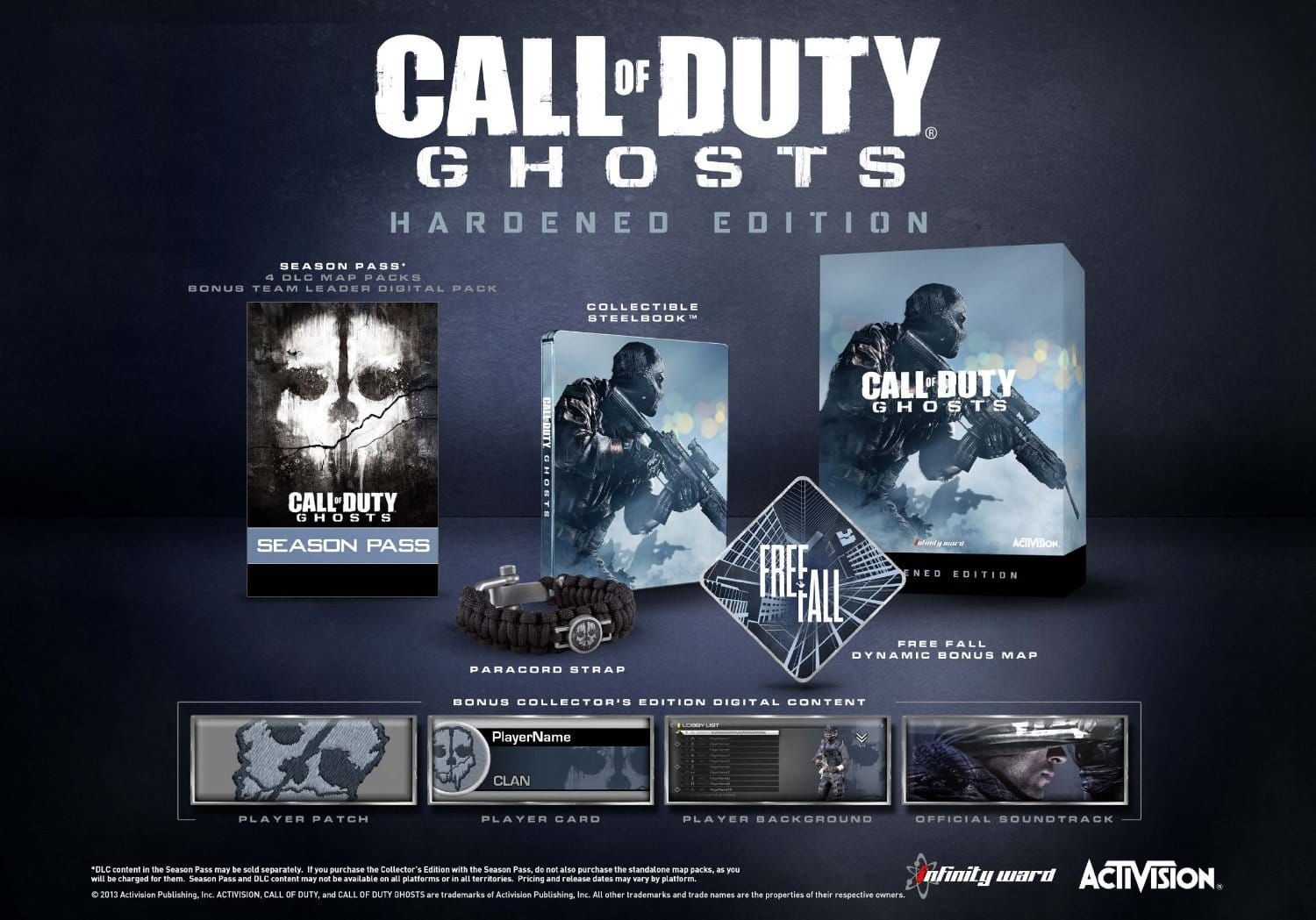 Call of Duty: Ghosts Hardened Edition (PS4)  $13
