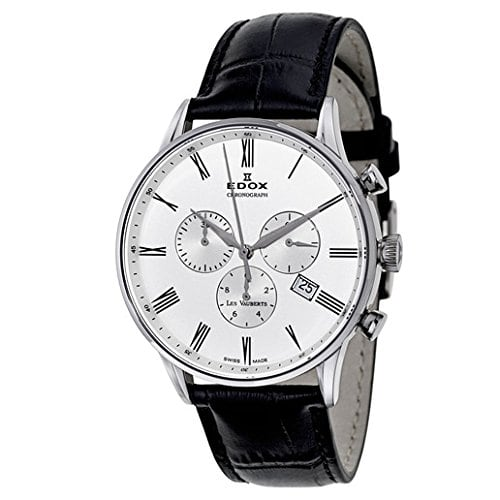 Edox Men's Les Vauberts Chronograph Quartz Watch (10408-3A-AR) $199 + Free Shipping