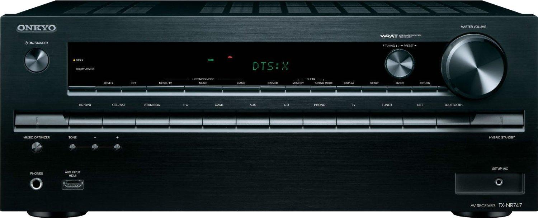 Onkyo 7.2-Channel Network A/V Receivers: TX-RZ800 $699.99, TX-NR747 $499.99 + Free Shipping