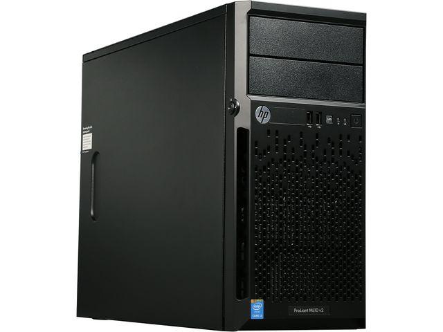 HP ProLiant ML10 v2 Tower Server with Intel Core i3-4150 3.5 GHz Dual-Core Processor, 4 GB DDR3L-1600 RAM, 350W PSU & More for $179.99 AC + Free Shipping @ Newegg.com