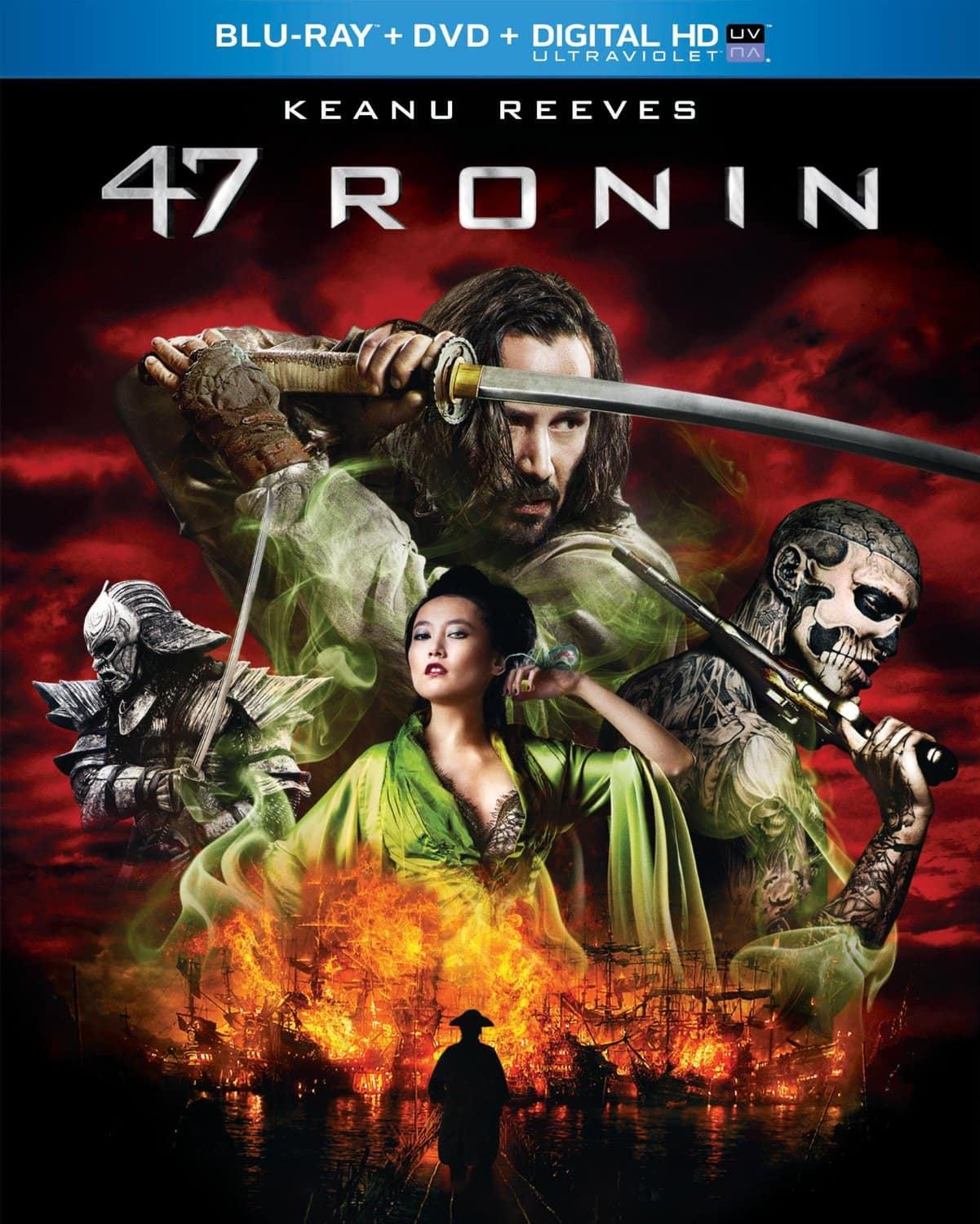 47 Ronin (Blu-ray + DVD + Digital HD w/ UltraViolet)  $5