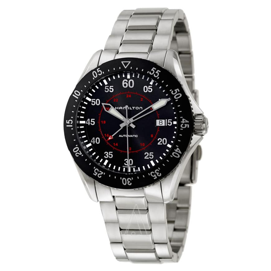 Hamilton Men's Khaki GMT Automatic Stainless Steel Watch $529 + Free Shipping