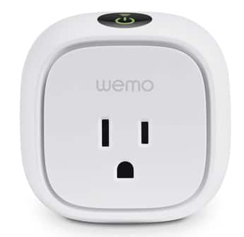 WeMo Products Additional 25% off: WeMo Switch $30, Light Switch $37.50, Insight Switch  $37.50 & More + Free Shipping