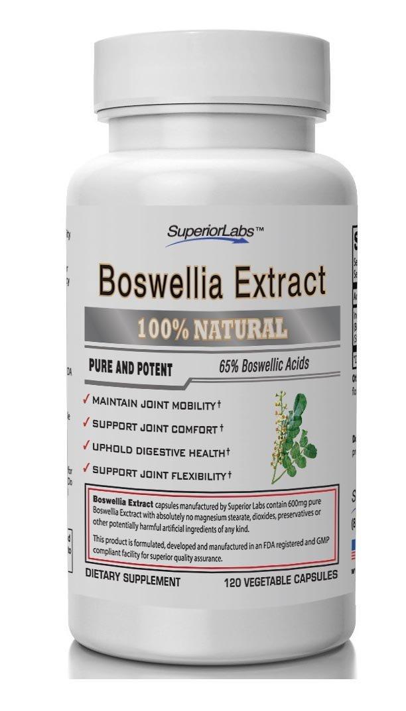 Boswellia Extract 120 Vegetable Caps FREE