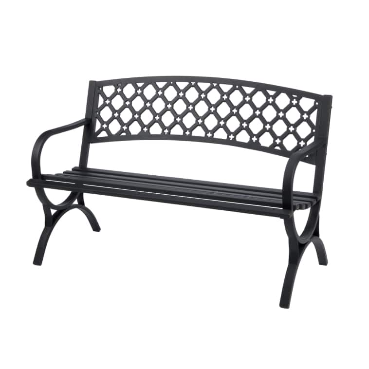 Living Accents Steel Park Bench $59.99 + Tax @ Acehardware.com & Free Pickup At Store!
