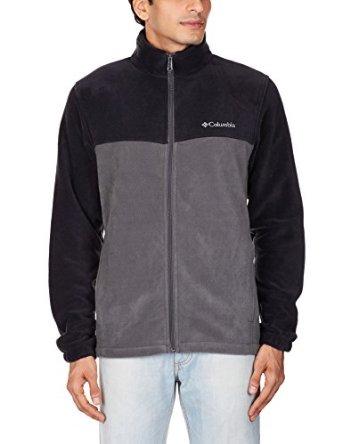 Columbia Men's Steens Mountain Front-Zip Fleece Jacket (L/XL/XXL)  from $15