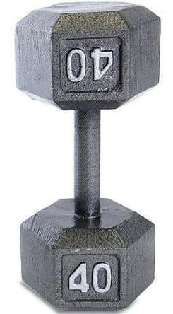 CAP Barbell Cast Iron Hex Dumbbell $7.48