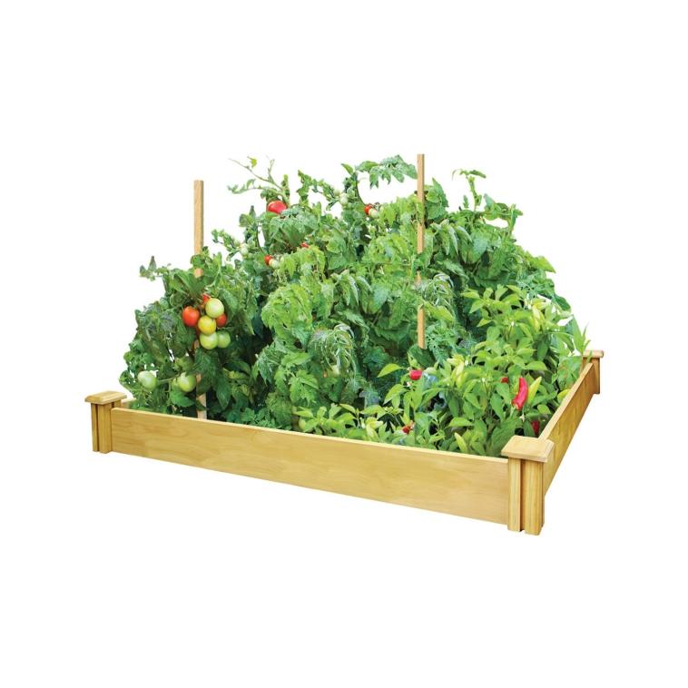 Greenes 4' x 4' Cedar Raised Garden Bed $29.99 + Tax @ Acehardware.com & Free Pickup At Store!