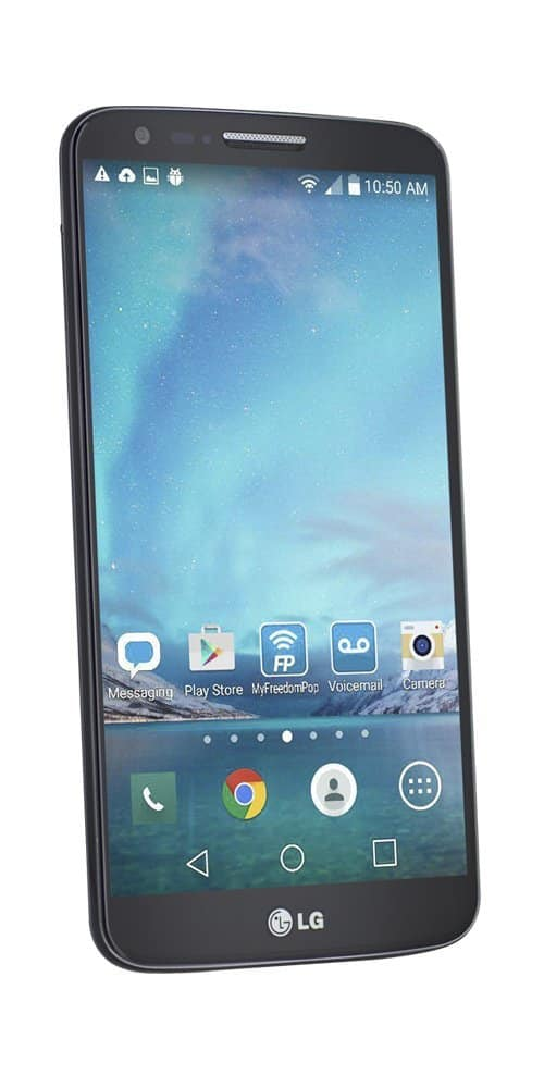 FreedomPop 32GB LG G2 4G LTE Smartphone (Certified Pre-owned)  $65
