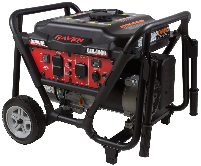 Raven GEN4000 4,000 Watt Gas Powered Portable Power Generator $230 + Free Shipping! (eBay Daily Deal)