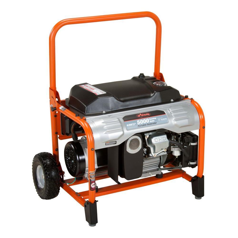 Ariens Generators: 5000W Gas-Powered Portable Generator w/ Subaru EX Engine  $399 + Free Shipping