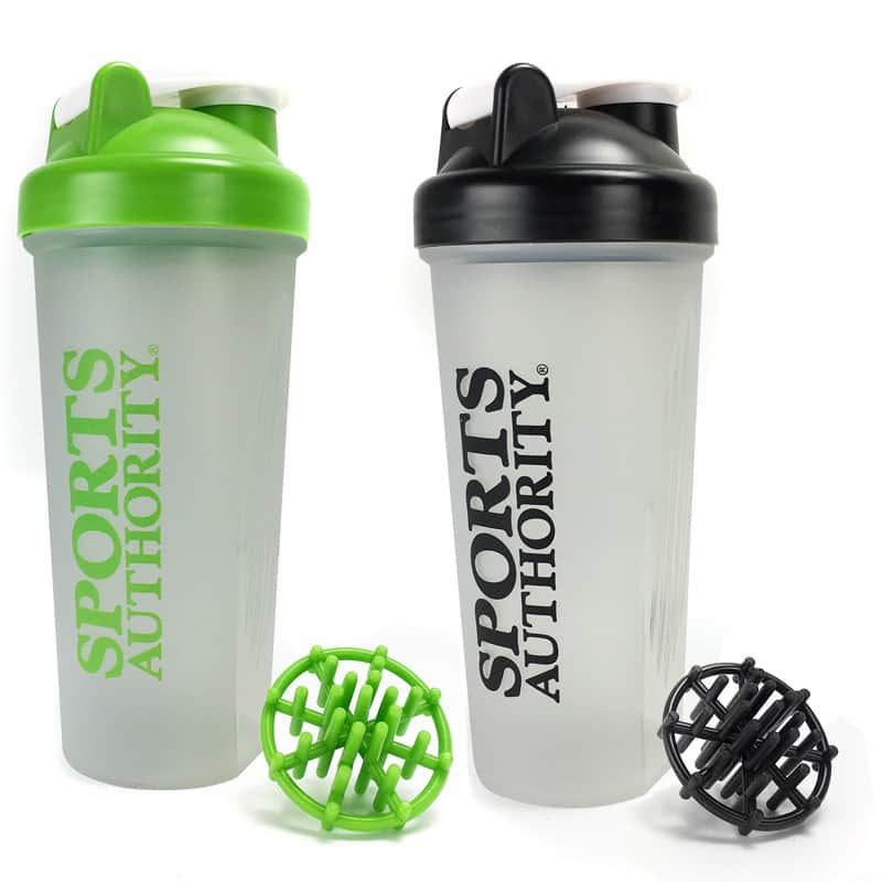 Sports Authority 20-oz Shaker Bottles  3 for $10 + Free Shipping