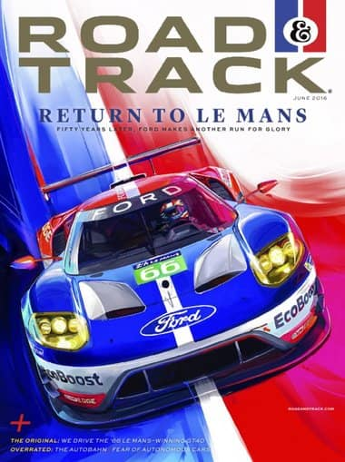 Road & Track Magazine (4 Year Subscription) for $15