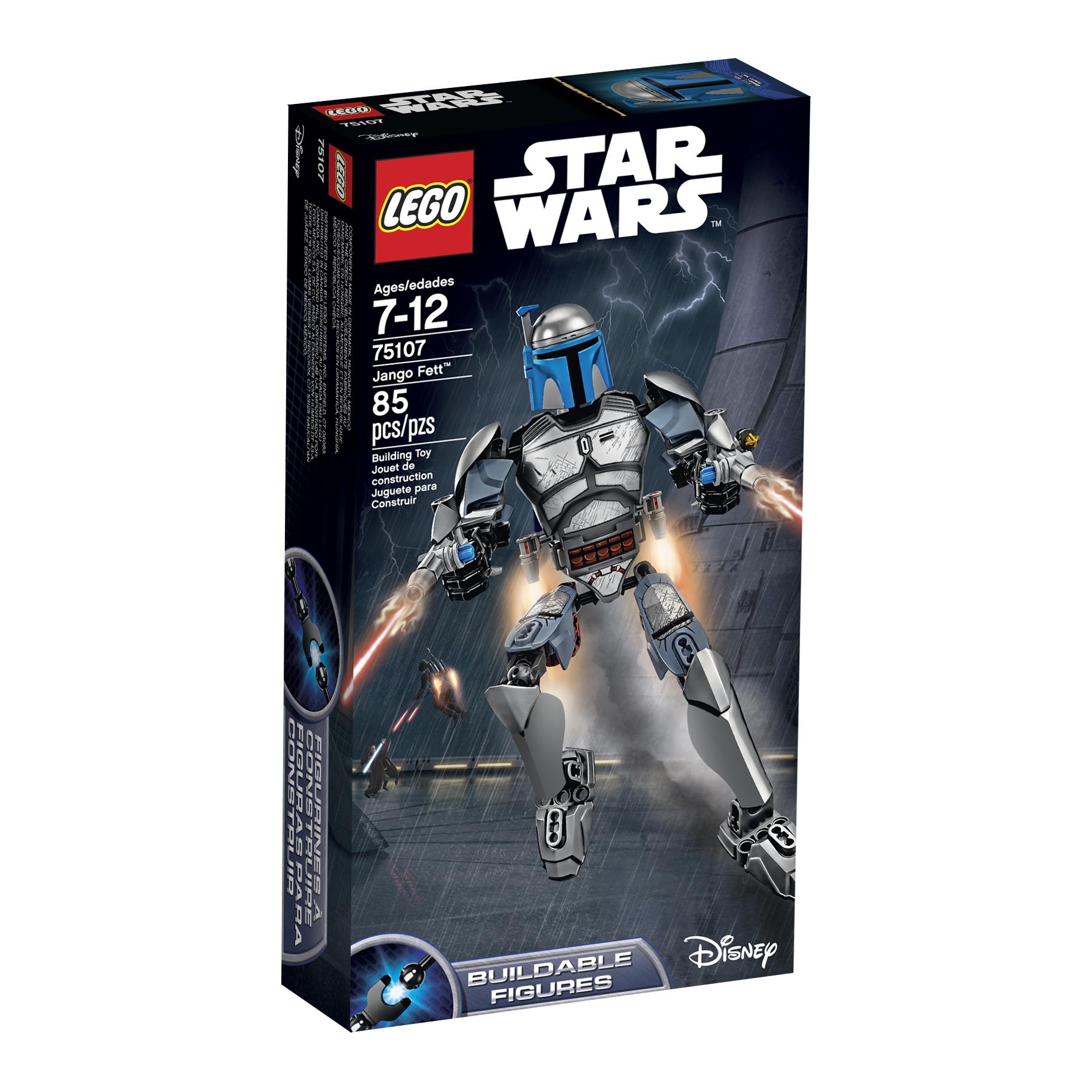 LEGO Star Wars Jango Fett 75107 $13.99 at Walmart and Amazon