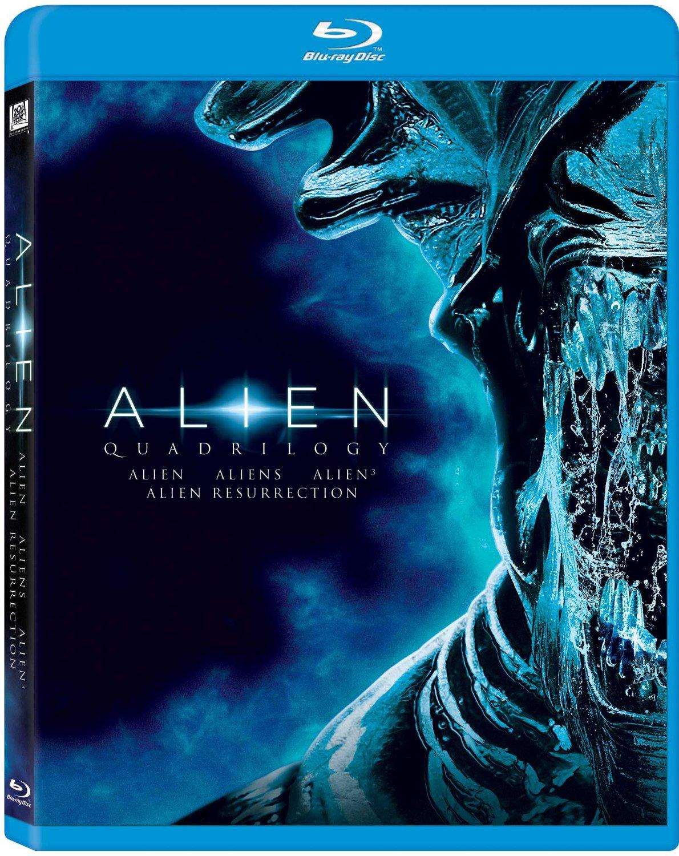 Alien: Quadrilogy (Blu-ray)  $15 + Free Store Pickup