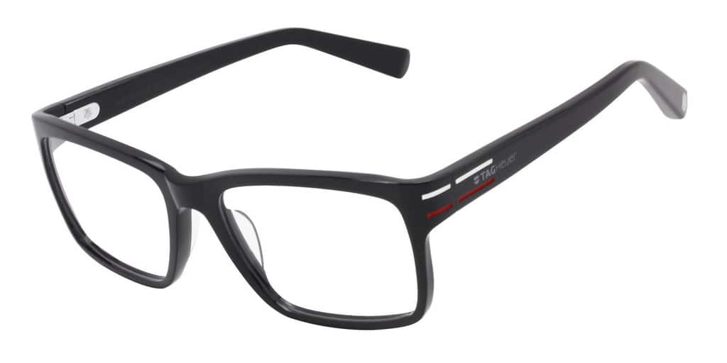 TAG Heuer 0536 Prescription Ready Eyeglasses Optical Unisex Frames For $79.99 + Free Shipping @ Dailysteals.com