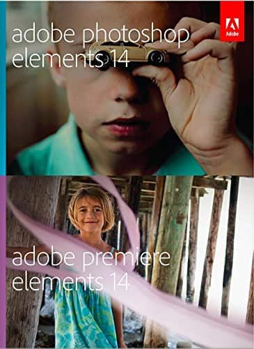 Adobe Photoshop Elements & Premiere Elements 14 (PC/Mac/Digital Download Software) $74.99 + Free Shipping