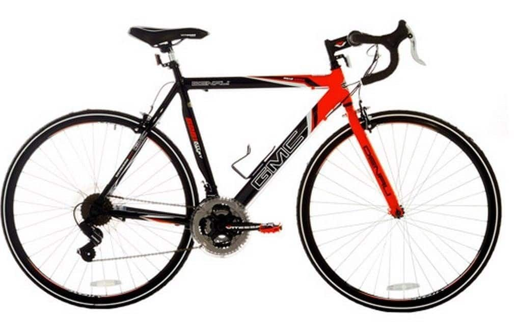 "GMC Denali 700c 19"" Men's Road Bike (black/orange)  $119 + Free Shipping"